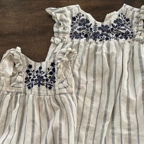 Gap matching // dress with matching bubble romper